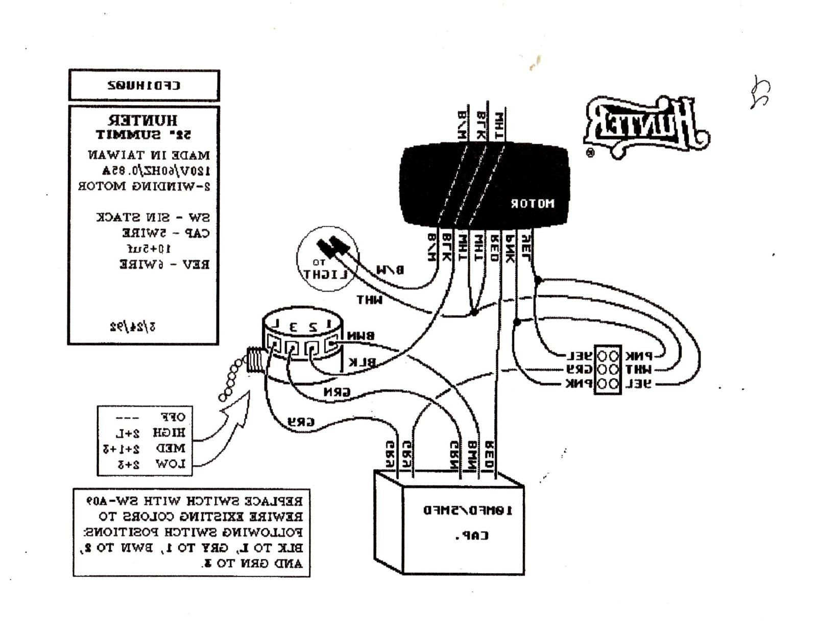 hunter ceiling fan capacitor wiring diagram download 3 way wiring diagram hunter ceiling fan