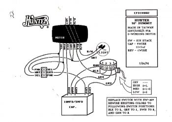 Hunter Ceiling Fan Wiring Diagram - Wiring Diagram for A Ceiling Fan with Remote Control Best Hunter Ceiling Fan with Remote Wiring 5t
