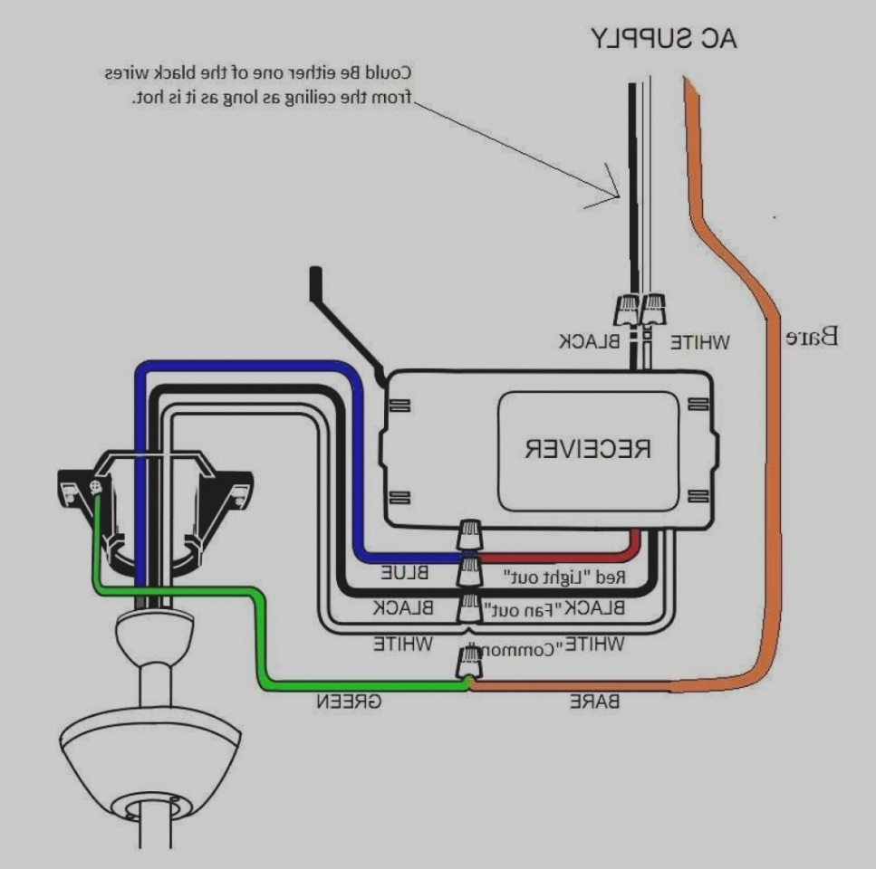 Hunter Fan Wiring Diagram With Remote