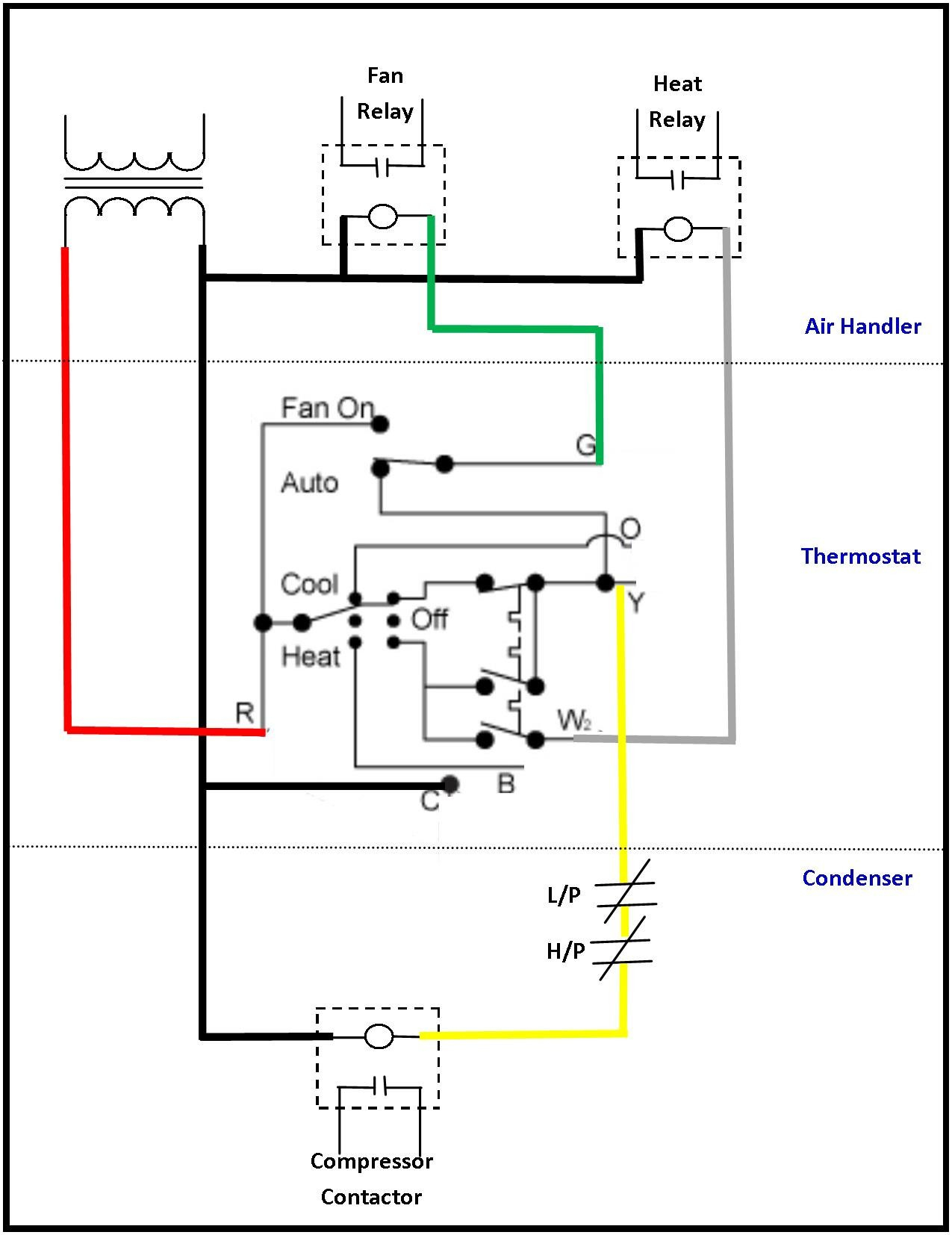 Room Thermostat Wiring Diagrams For Hvac Systems Manual Guide