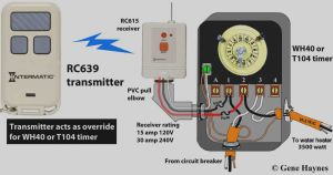 Intermatic Timer T104 Wiring Diagram - Collection T104m Timer Wiring Diagram White Neutral Wire How to Intermatic T104 and T103 T101 13i