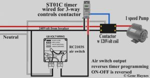 Intermatic Timer T104 Wiring Diagram - Collection T104m Timer Wiring Diagram White Neutral Wire Intermatic T101 Sprinkler 240v St01 Digital 16s