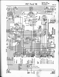 International Truck Radio Wiring Diagram - 1957 Thunderbird 8t