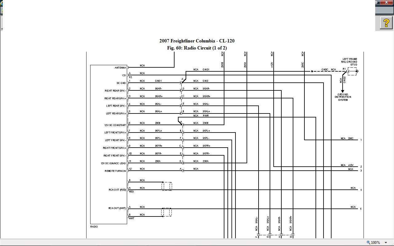 international truck radio wiring diagram gallery rh wholefoodsonabudget com 2007 freightliner columbia fuse panel diagram 2008 freightliner columbia fuse panel diagram
