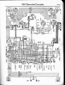 International Truck Wiring Diagram - 1957 Corvette 2r
