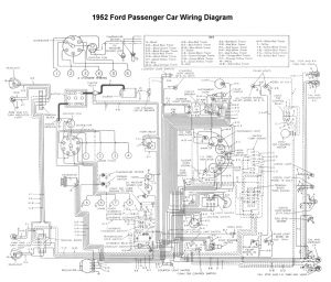 International Truck Wiring Diagram - Wiring for 1952 ford Car 18f