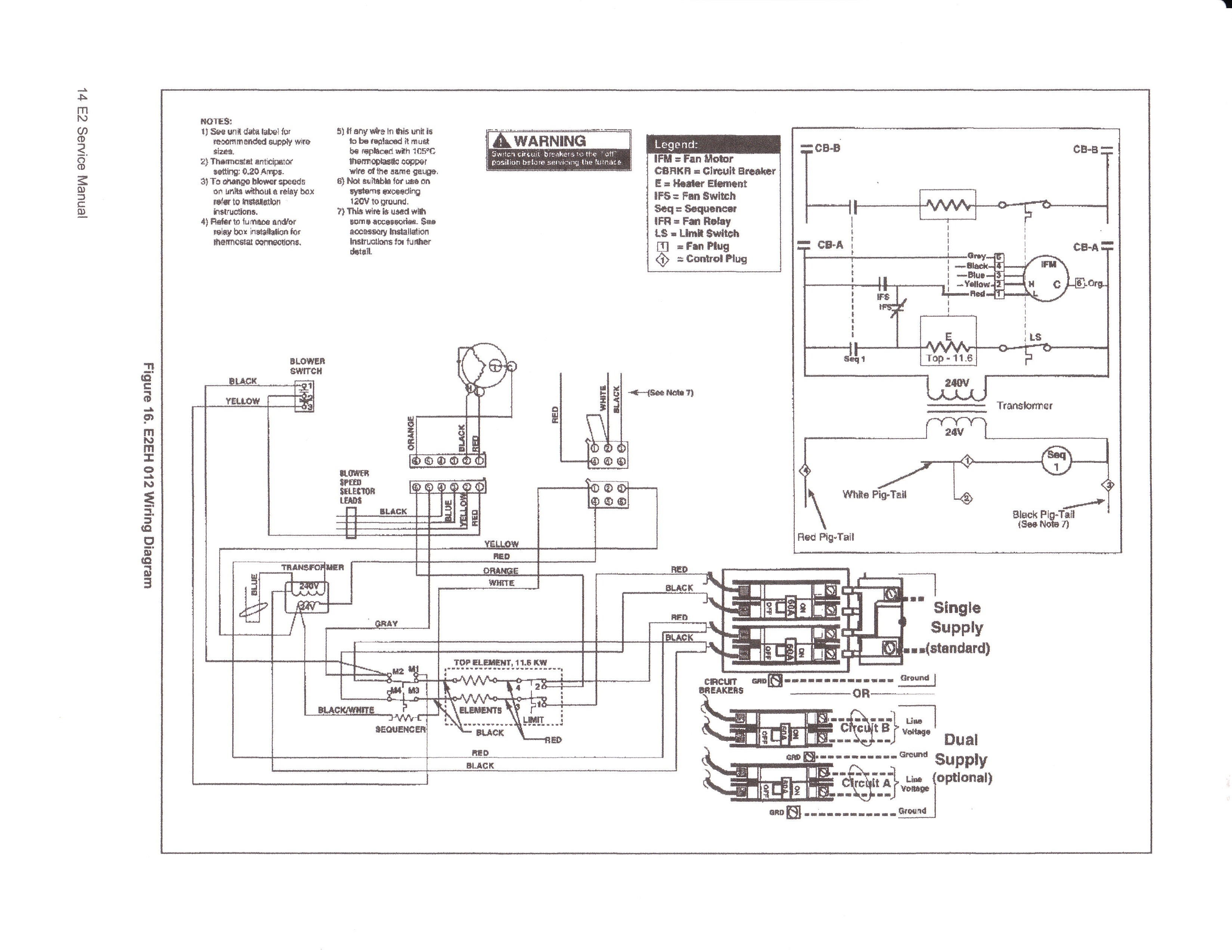 Intertherm Electric Furnace Wiring Diagram Gallery