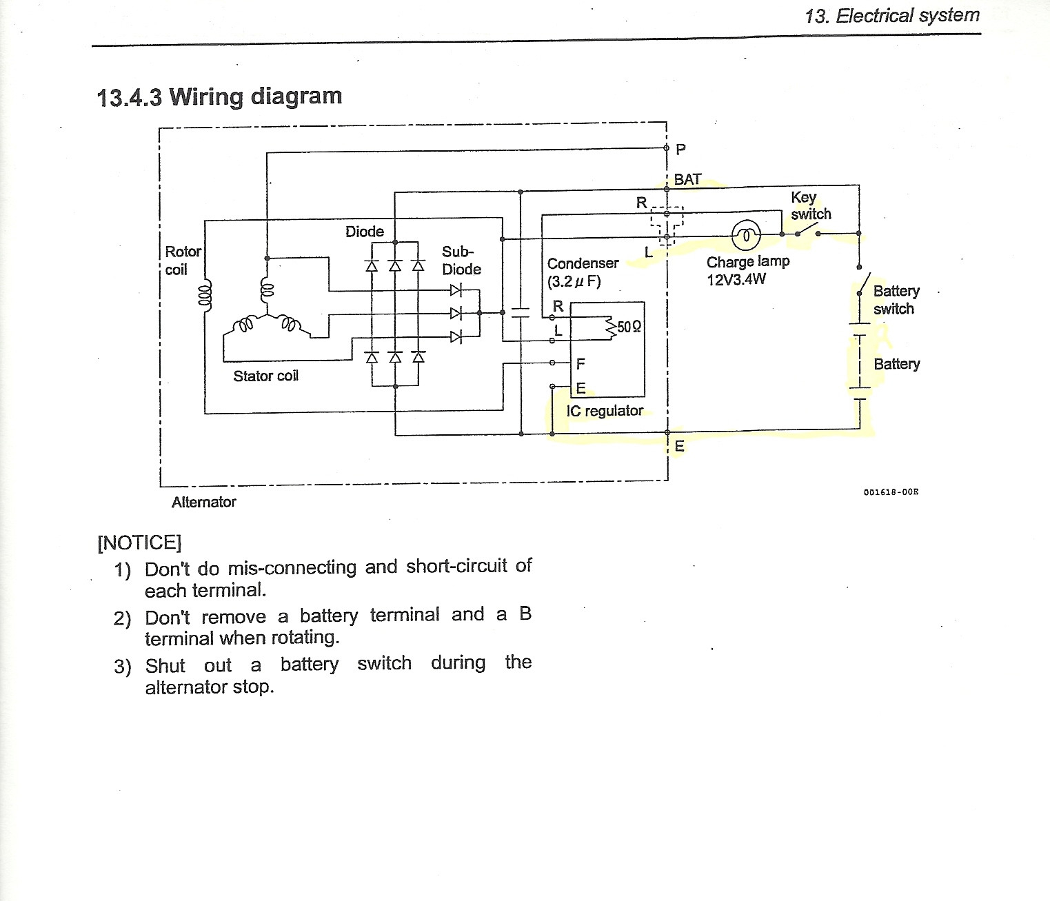 isuzu npr alternator wiring diagram Collection-Isuzu Alternator Wiring Diagram New isuzu Npr Alternator Wiring Diagram 16-i