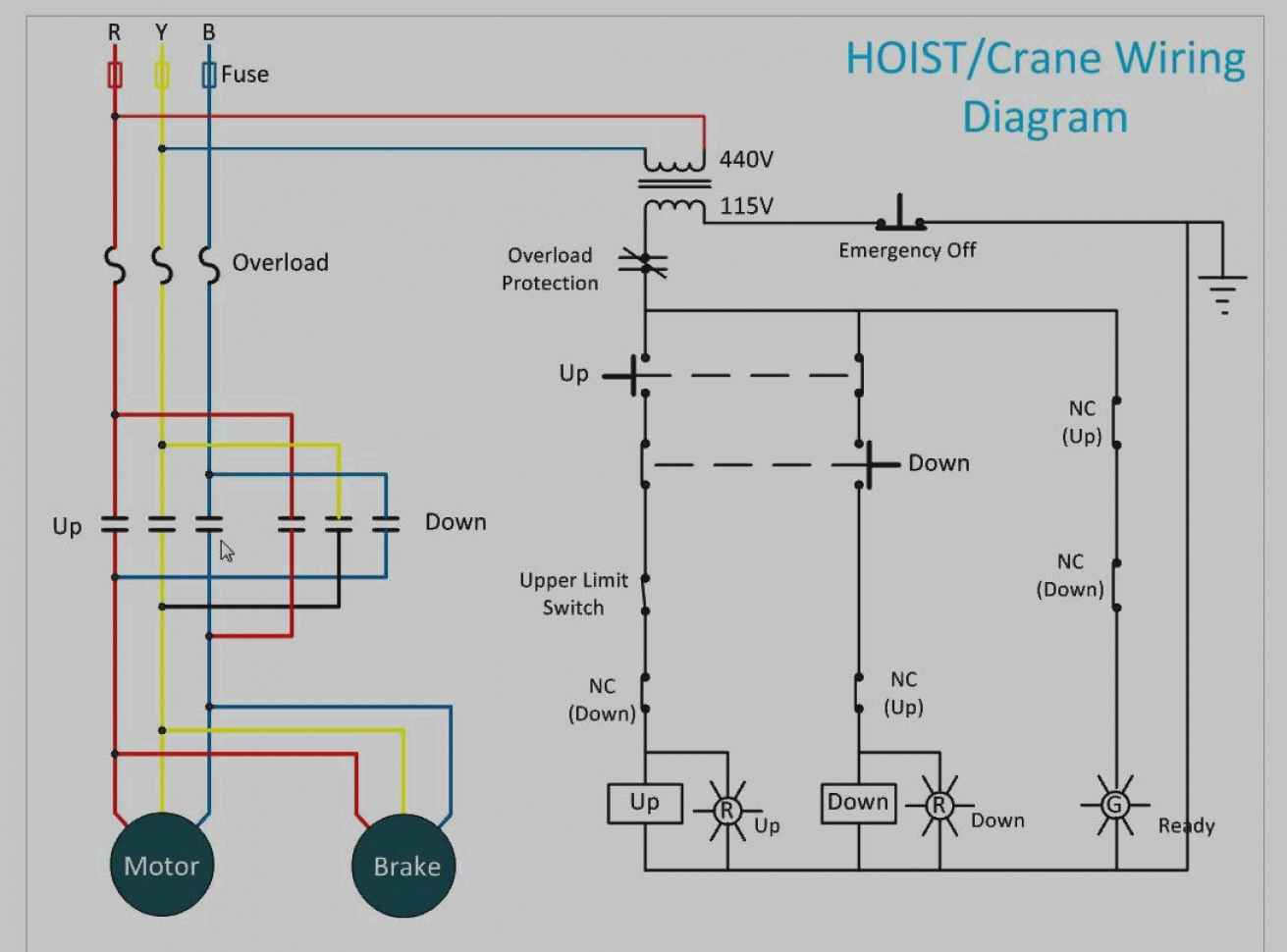 jet electric chain hoist wiring diagram Collection-2019 Jet Electric Chain Hoist Wiring Diagram 8-e