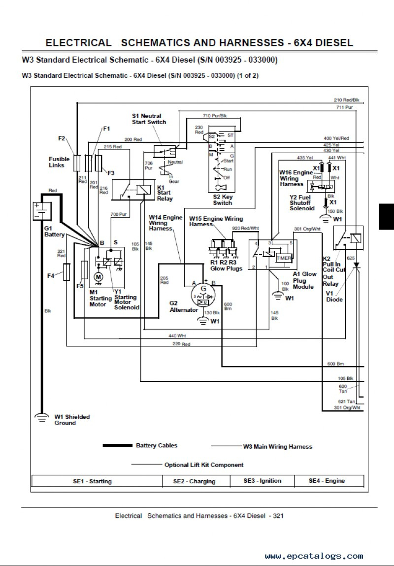john deere 5101 wiring diagrams john deere trs27 engine diagrams john deere gator 855d wiring diagram download #15