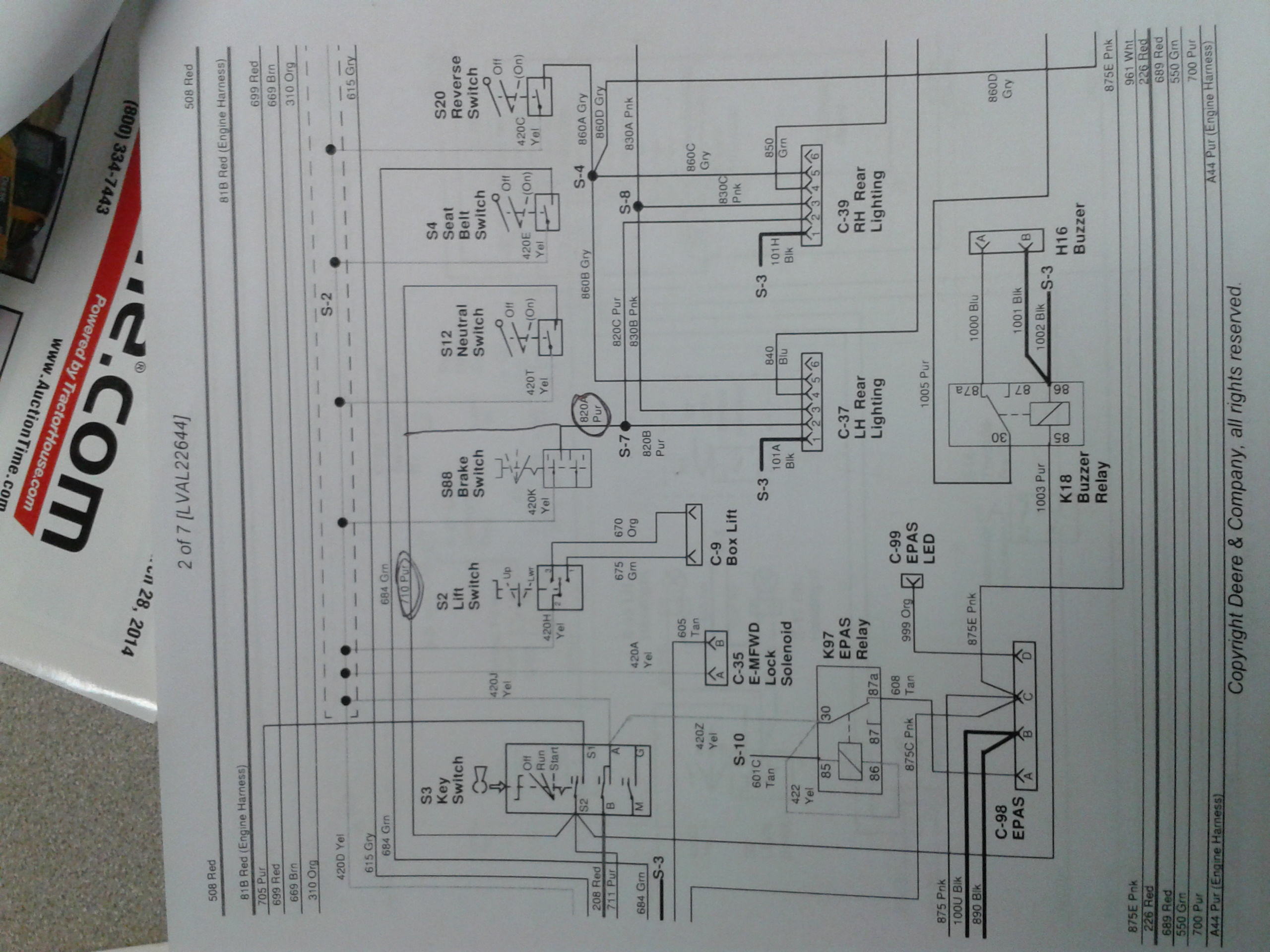 Gator Xuv 620i Wiring Diagram | Wiring Liry on