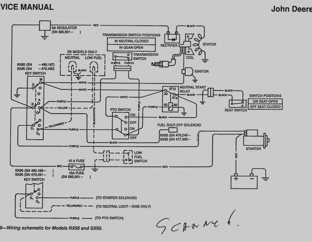 john deere l110 wiring diagram - 27 collection john deere sabre wiring  diagram stunning for image