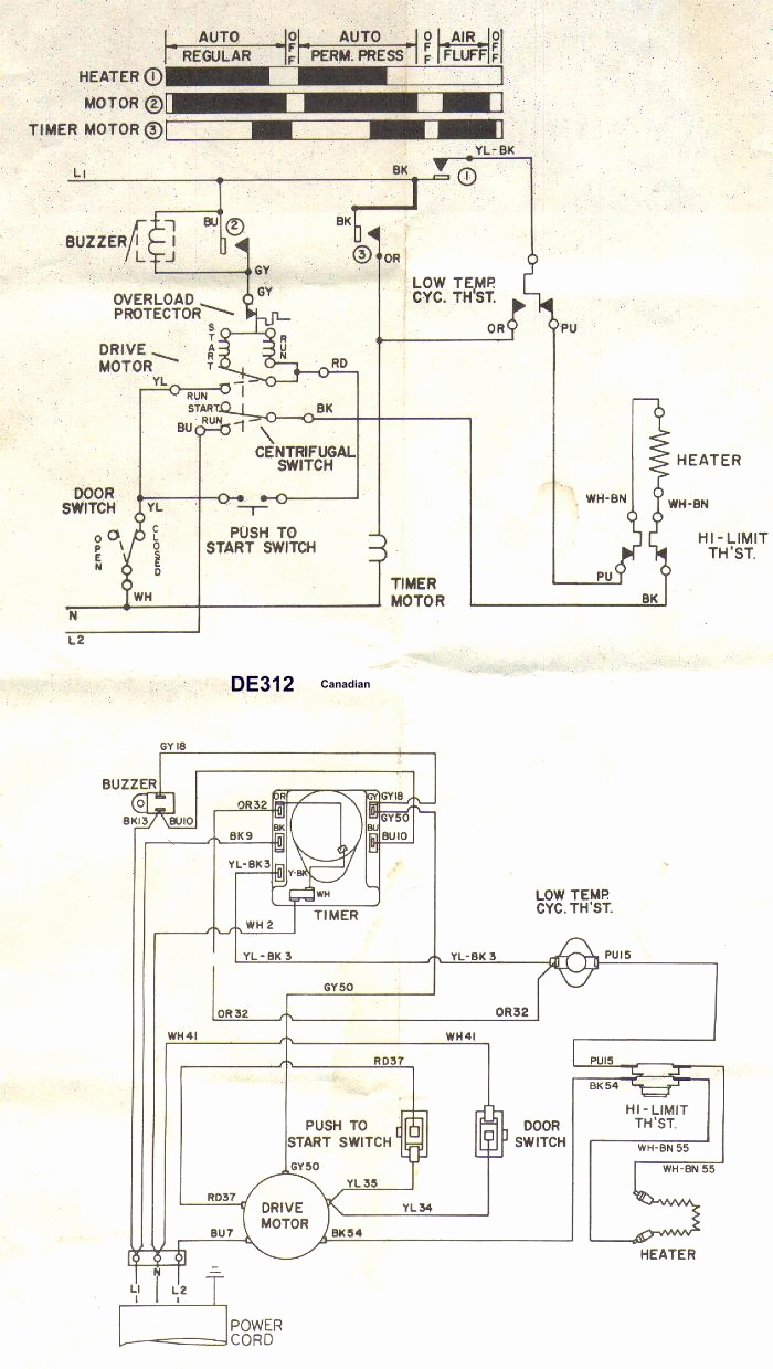 Kenmore 90 Series Dryer Heating Element Wiring Diagram ...