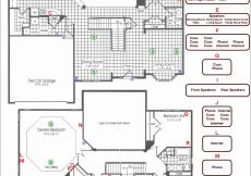 Kitchen Electrical Wiring Diagram - House Wiring Plan Drawing Awesome Electrical Wiring Diagram Symbols Sample 15a
