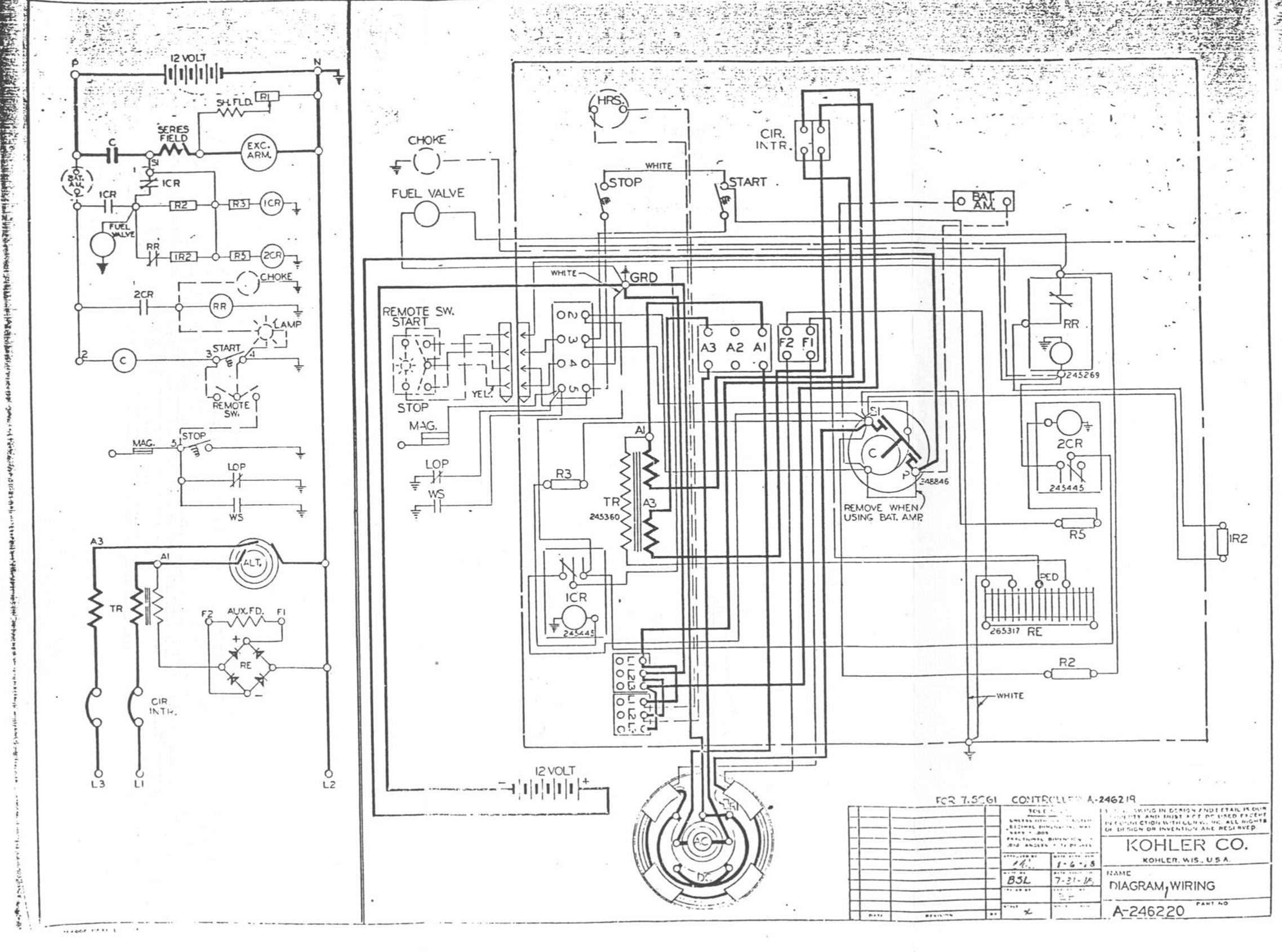 Kohler Generator Diagrams Start Building A Wiring Diagram Engine Download Rh Wholefoodsonabudget Com Schematics