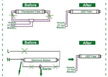 Led Fluorescent Tube Replacement Wiring Diagram - Wiring Diagram for Fluorescent Light Fresh Wiring Diagram for Led Tubes Refrence Wiring Diagram Led Tube 20e