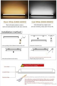 Led Tube Light Wiring Diagram - 2ft 3ft T5 Led Tube Lights 4ft 22w Led Tubes Smd 2835 Led Fluorescent Light Tubes 9n