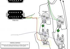 Les Paul Coil Tap Wiring Diagram - Guitar Wiring Diagram Coil Tap Inspirationa Les Paul Electric Guitar Wiring Schematics Example Electrical 9k
