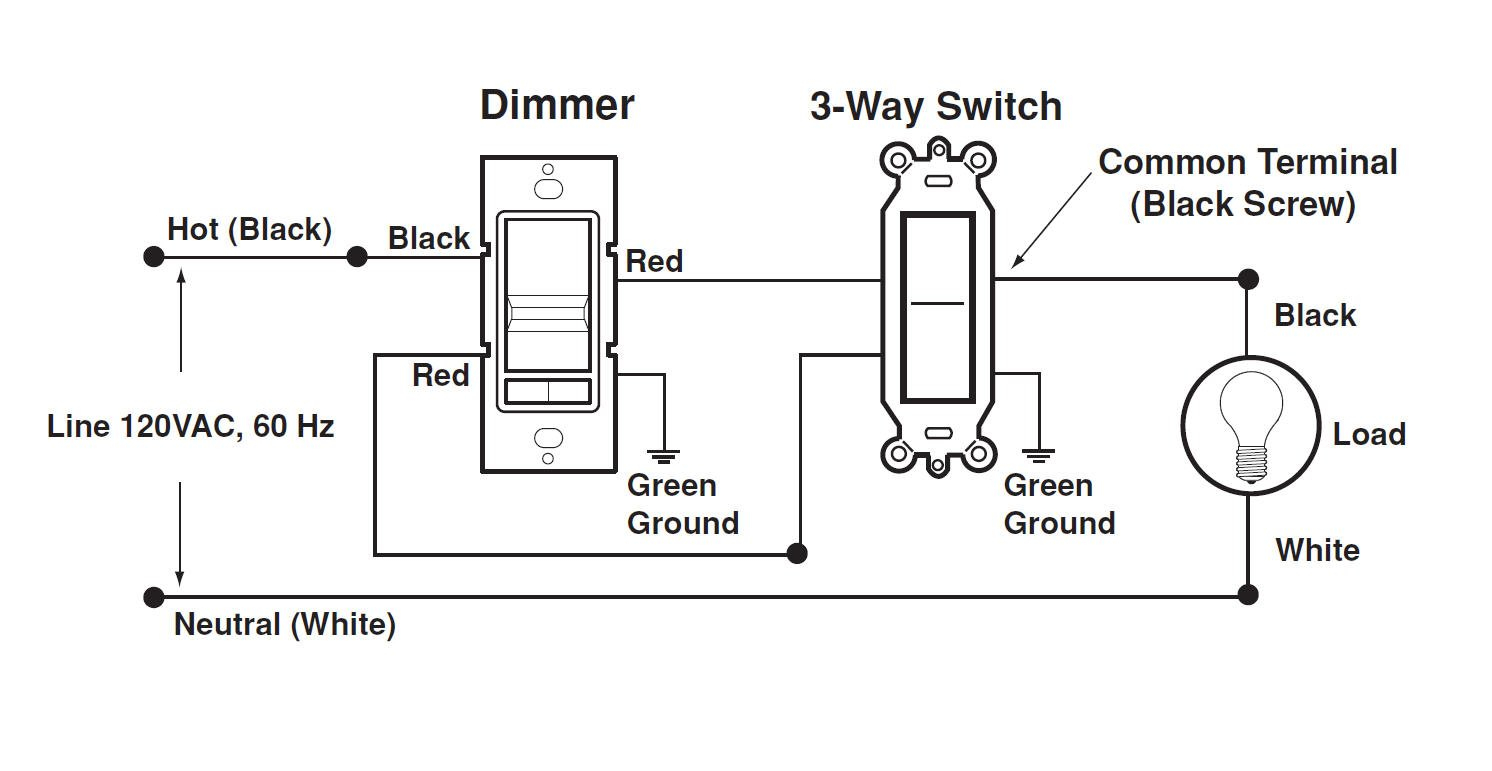 Diagram Lutron Single Pole Dimmer Switch Wiring Diagram Download
