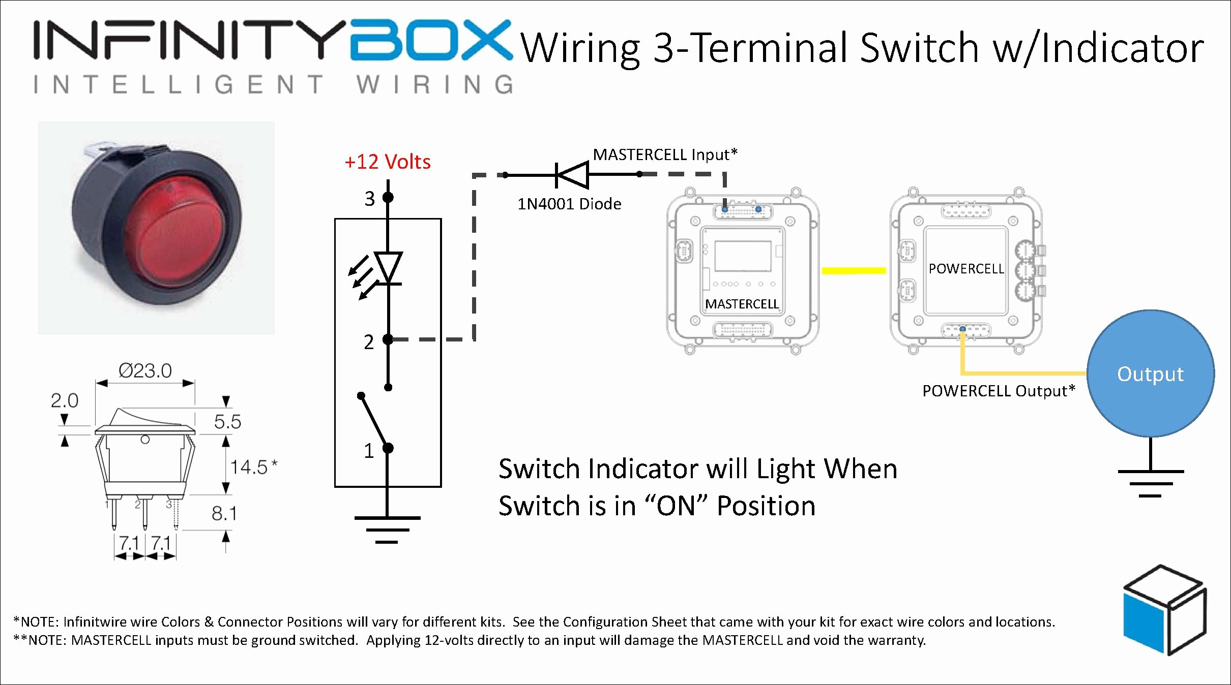 Lighted Rocker Switch Wiring Diagram 120v Download