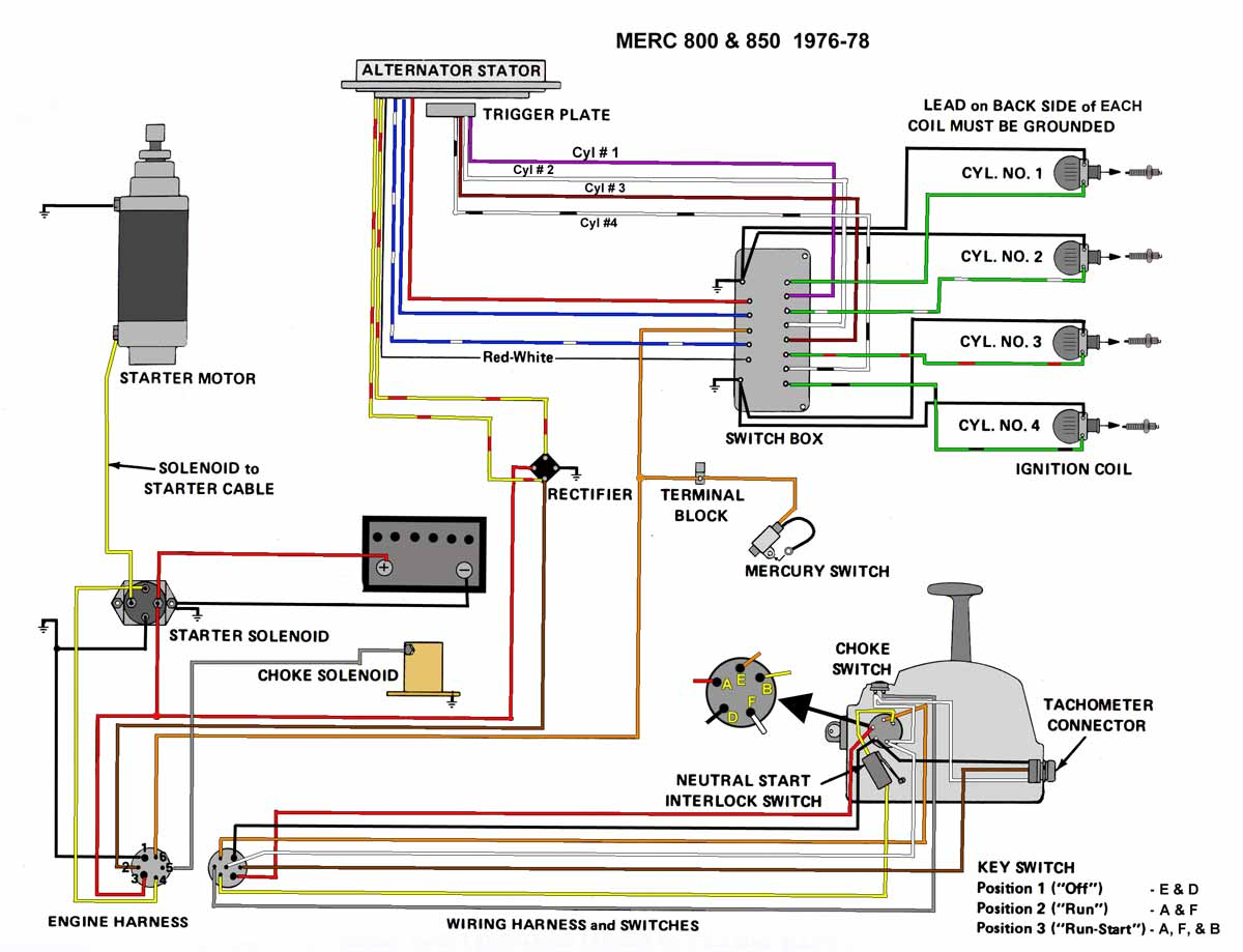 mercury outboard wiring diagram Collection-1995 Mercury Outboard 60 Hp Wiring Harness Diagram line 11-e