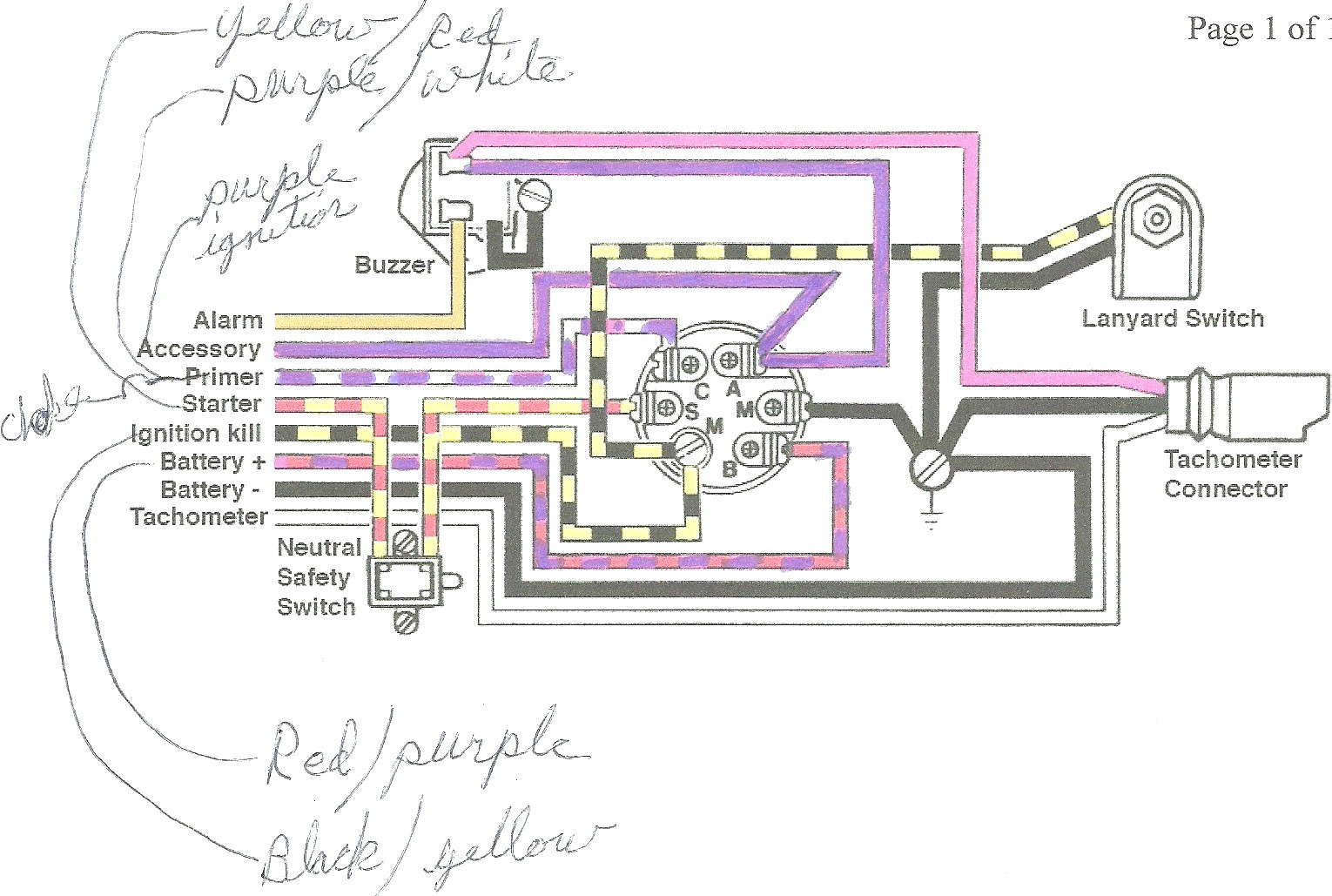mercury outboard wiring diagram Collection-mercury outboard wiring harness diagram Download switch wiring diagram on mercury 60hp outboard motor wiring DOWNLOAD Wiring Diagram 16-g