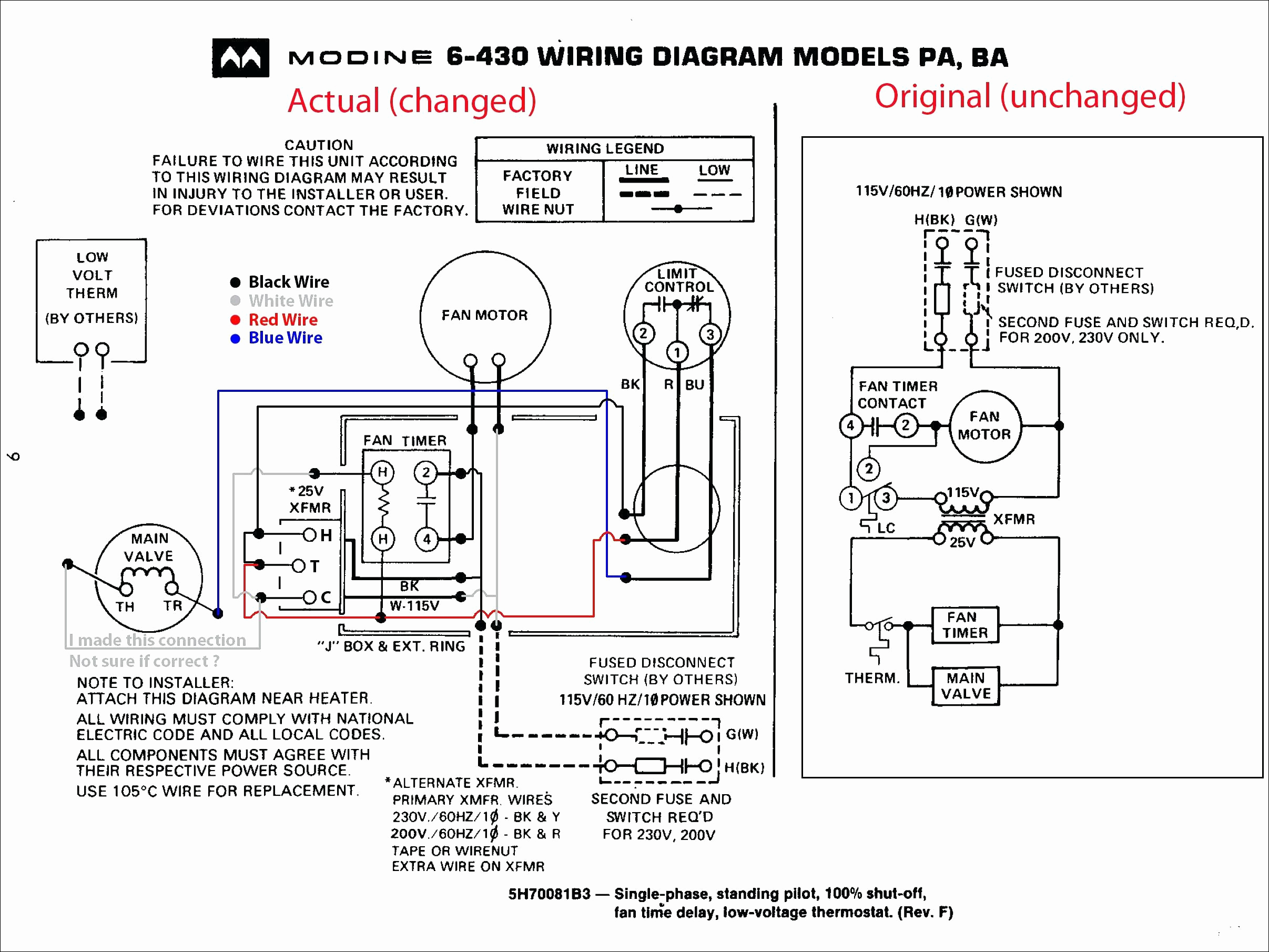 modine heater wiring diagram Collection-Modine Heater Parts Diagram for Amazing Trane Gas Furnace Wiring Diagram Image Electrical Diagram 1-a