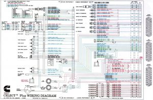 N14 Cummins Ecm Wiring Diagram - Cummins N14 Celect Plus Wiring Diagram to 100 Ideas Diagrams isx 40 N14 Celect Wiring 2c