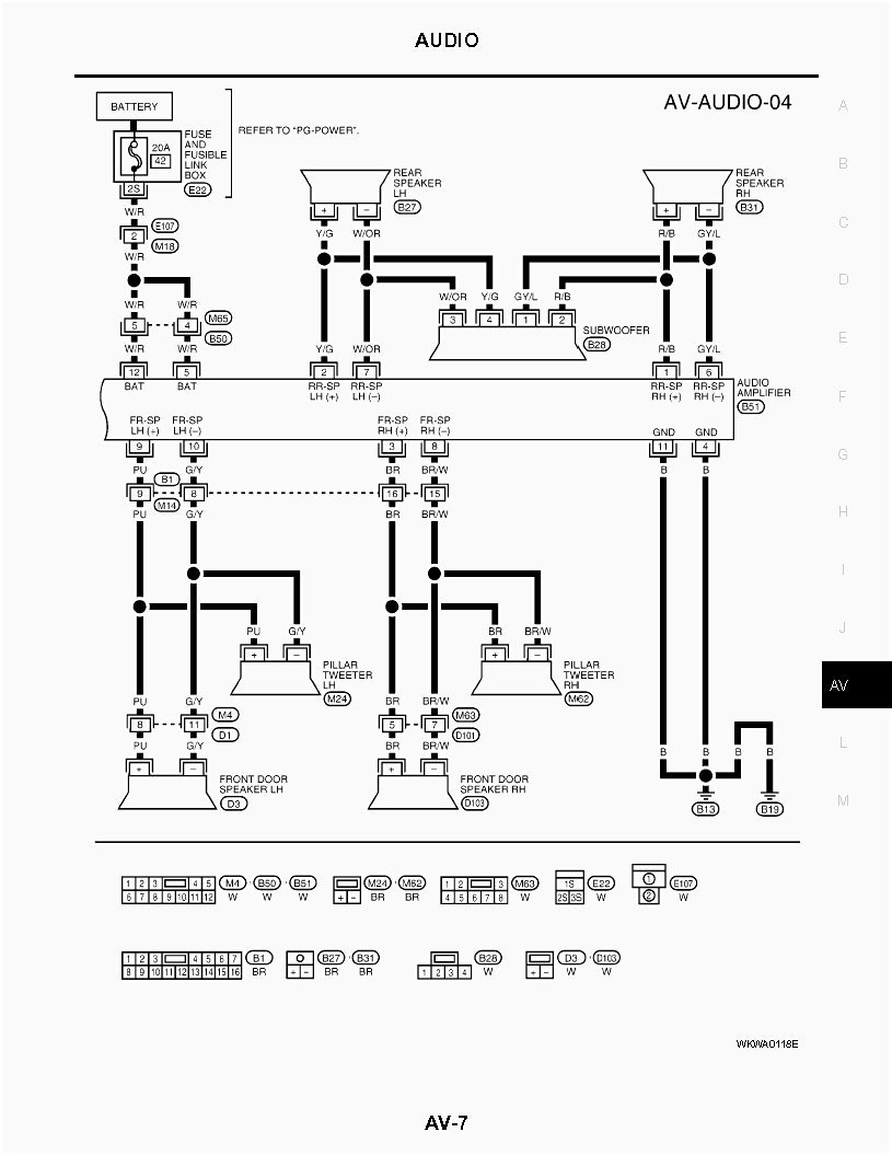diagram audio wiring diagram nissan full version hd. Black Bedroom Furniture Sets. Home Design Ideas