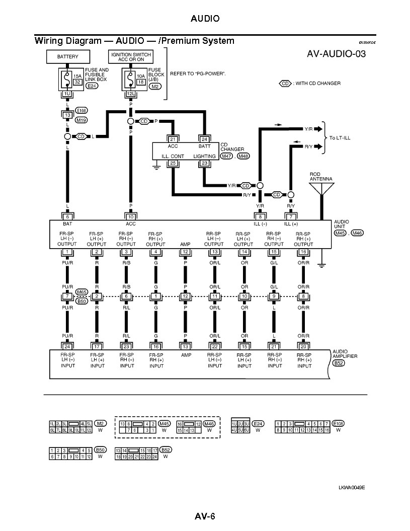 Nissan Frontier Rockford Fosgate Wiring Diagram Collection
