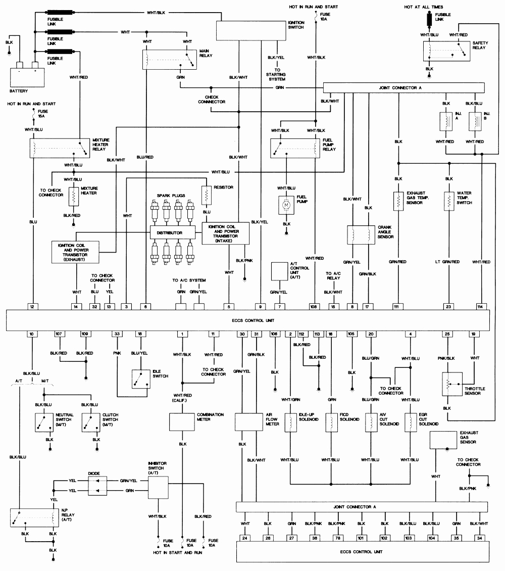 Nissan Pathfinder Wiring Diagram Sample