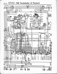 Old Air Products Wiring Diagram - 1958 Studebaker and Packard Golden Hawk Packard Hawk 17l