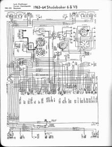 Old Air Products Wiring Diagram - 1963 64 6 Cylinder and V8 Lark Challenger Cruiser Mander Daytona 11a