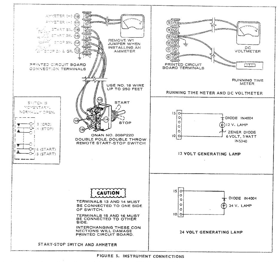 Onan 4000 Generator Remote Start Switch Wiring Diagram Sample