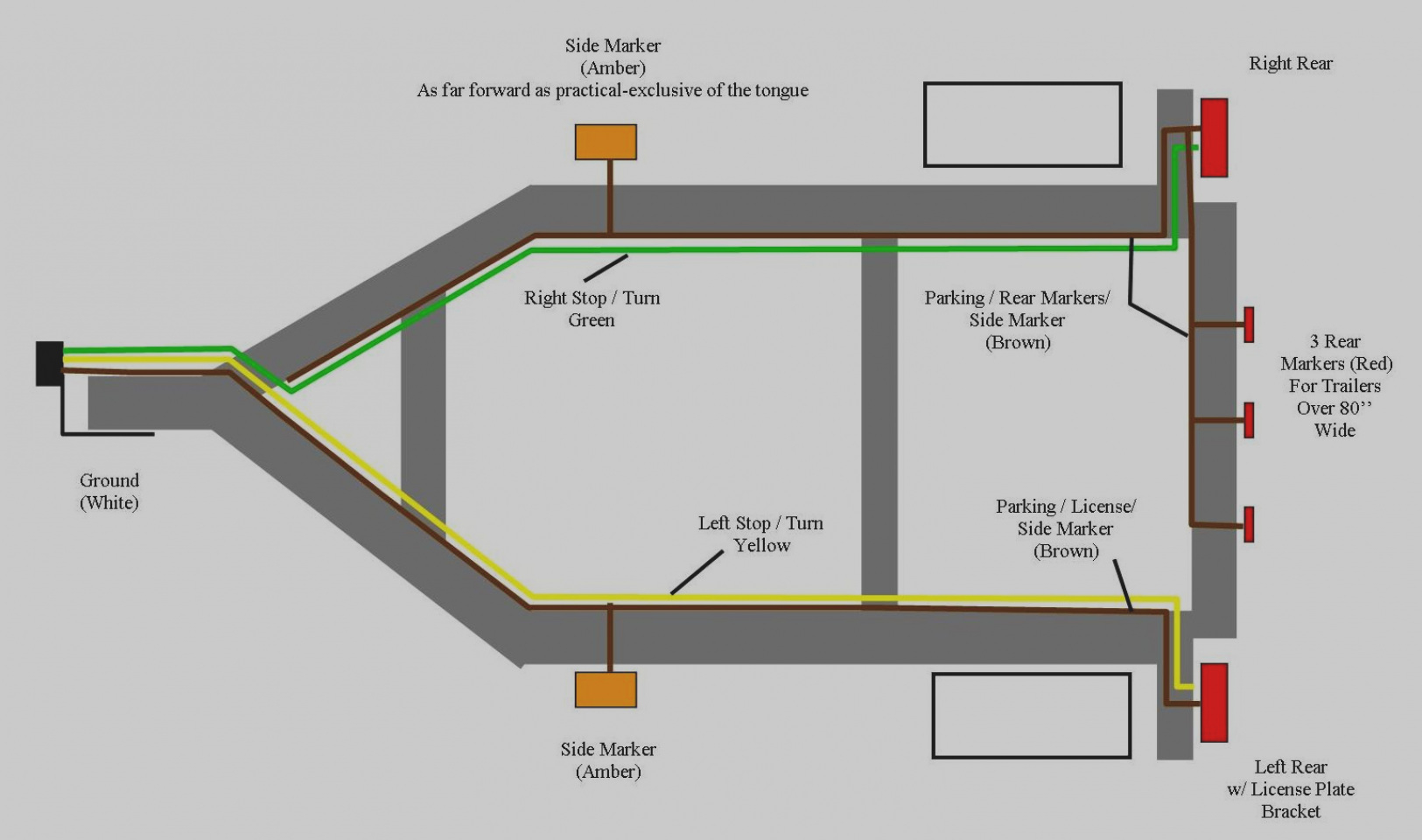 Optronics Trailer Light Wiring Diagram Collection