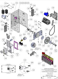 Osco Gate Operator Wiring Diagram - Doorking 9150 082 Exploded Parts View 2 10l