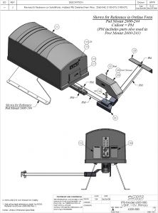 Osco Gate Operator Wiring Diagram - Doorking Swing Gate Opener Parts 6300 6p