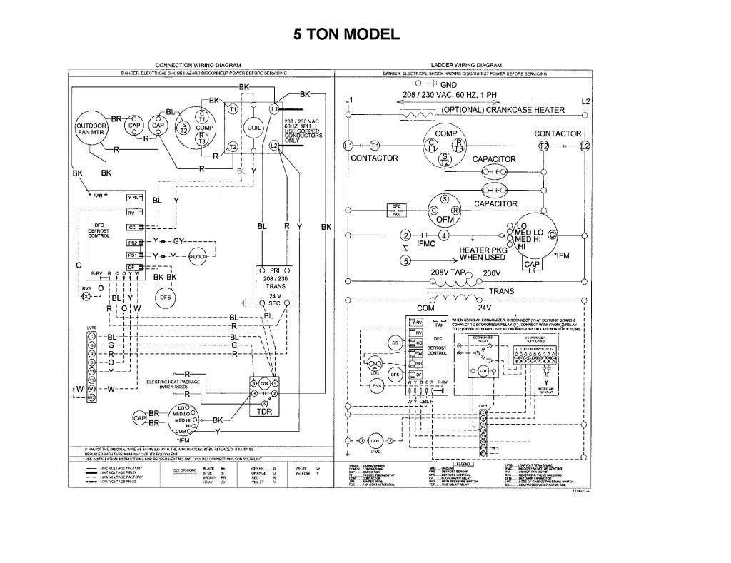 payne package unit wiring diagram collection payne air conditioner wiring diagram #5