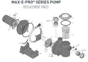 Pentair Superflo 1.5 Hp Wiring Diagram - Max E Pro Series Pump Parts 5h