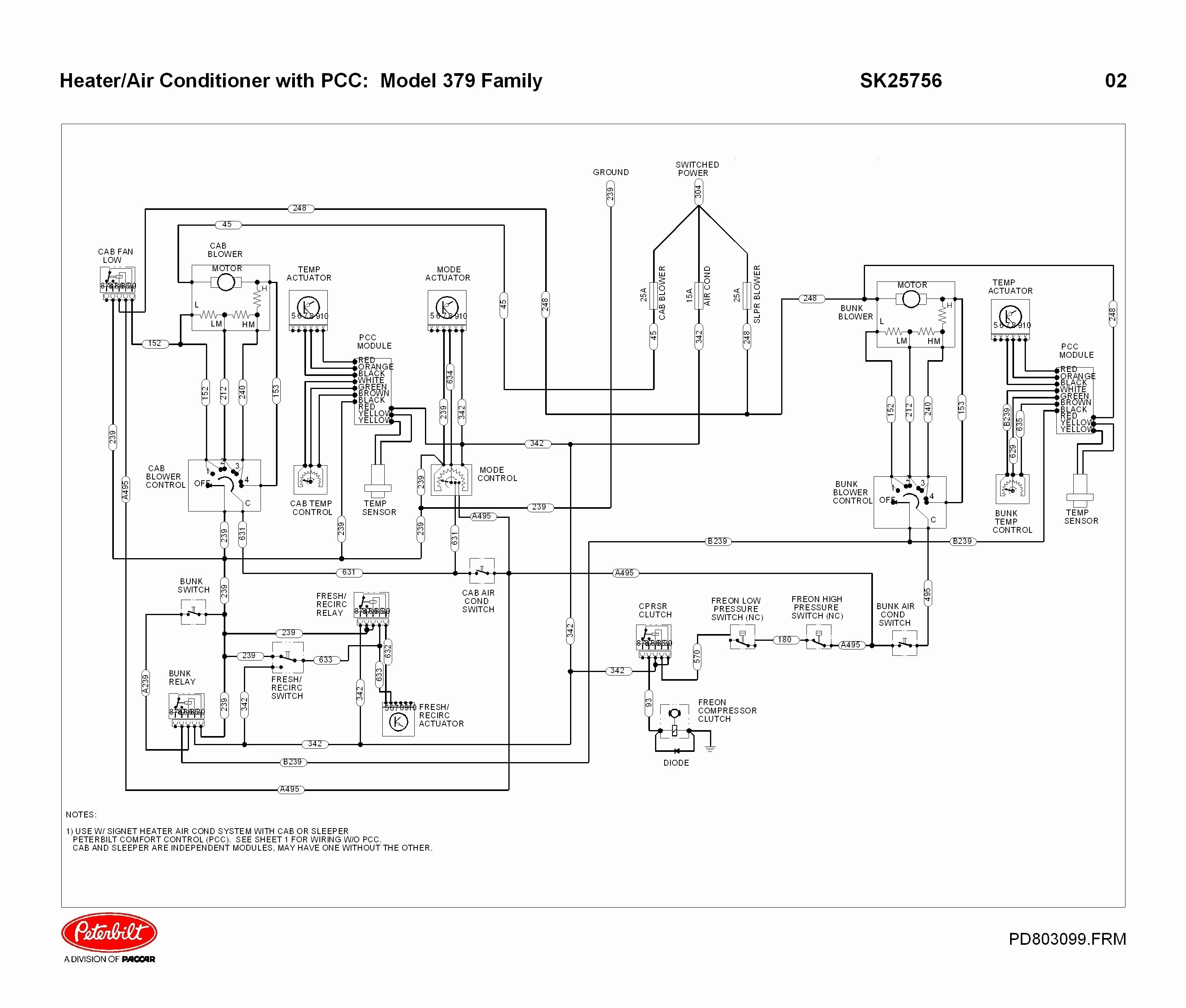 2011 Peterbilt Wiring Diagram