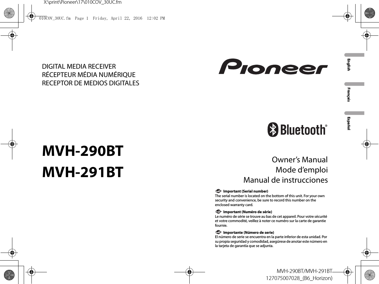 Pioneer Avh 291bt Wiring Diagram Sample P4000dvd Installation Manual Unique Troubleshooting Free