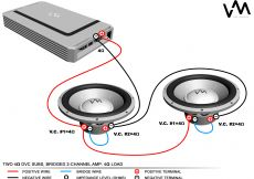 Polk Audio Subwoofer Wiring Diagram - Best Way to Hook Up Two Subs to One Amp 1q
