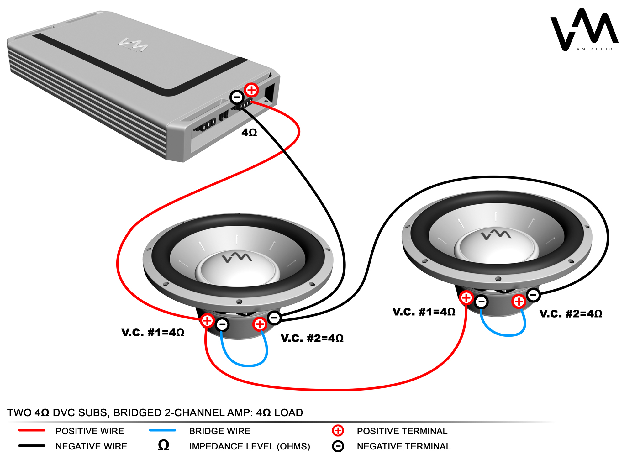 polk audio subwoofer wiring diagram Collection-Best way to hook up two subs to one amp 10-m