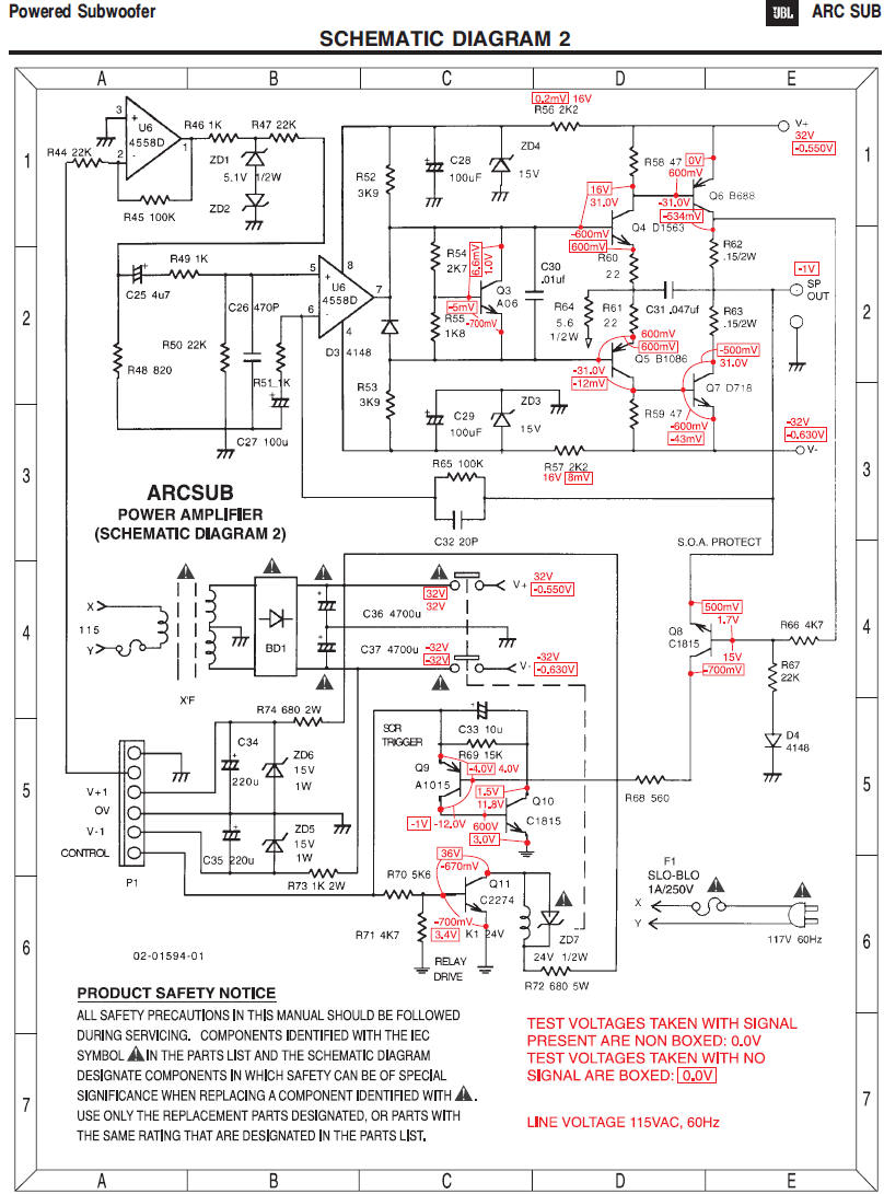 Polk Audio Subwoofer Wiring Diagram Download