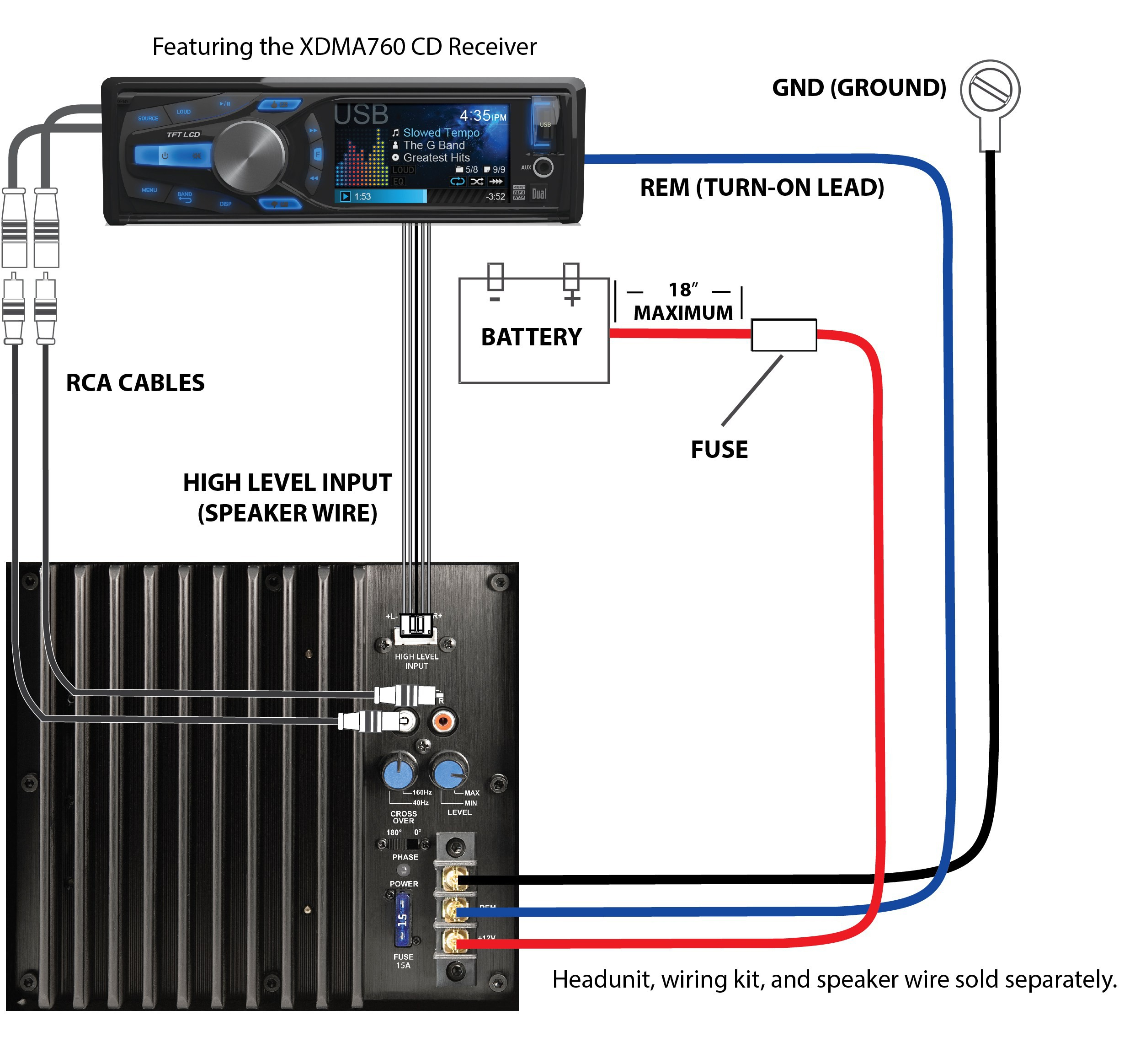 Subwoofer Wiring Diagram from wholefoodsonabudget.com