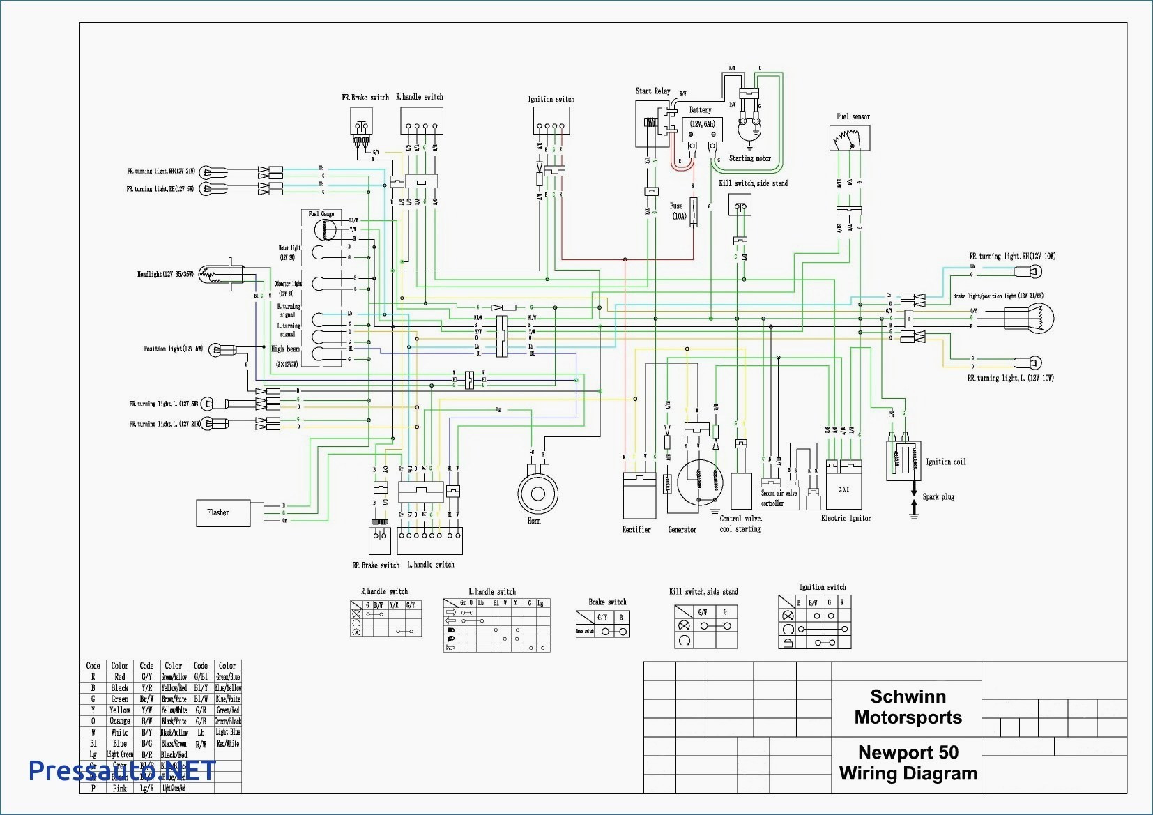 Pride Victory Scooter Wiring Diagram - Pride Legend Wiring Diagram Fresh Wiring  Diagram for Legend Race