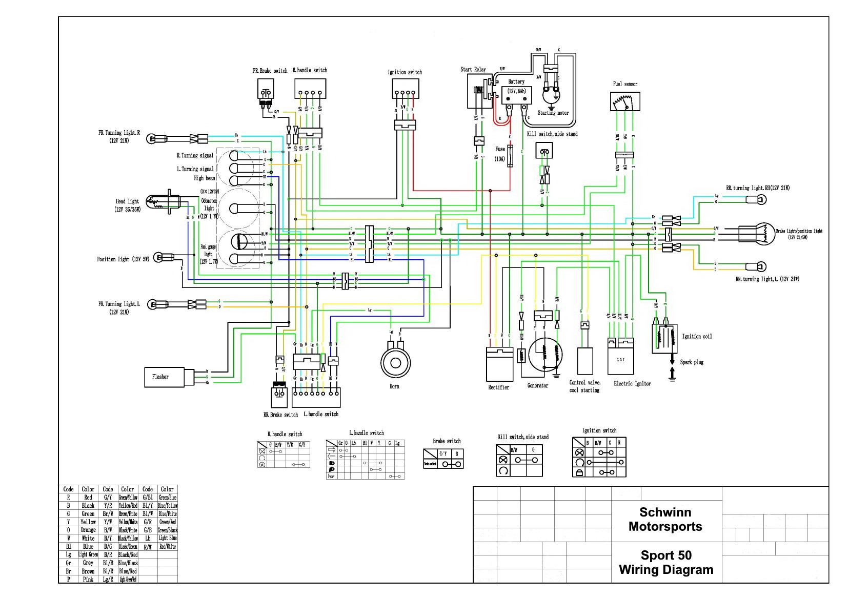 Vento Wiring Diagram Wiring Diagram Schematics KTM Scooter Vento Phantom Scooter  Wiring Diagram