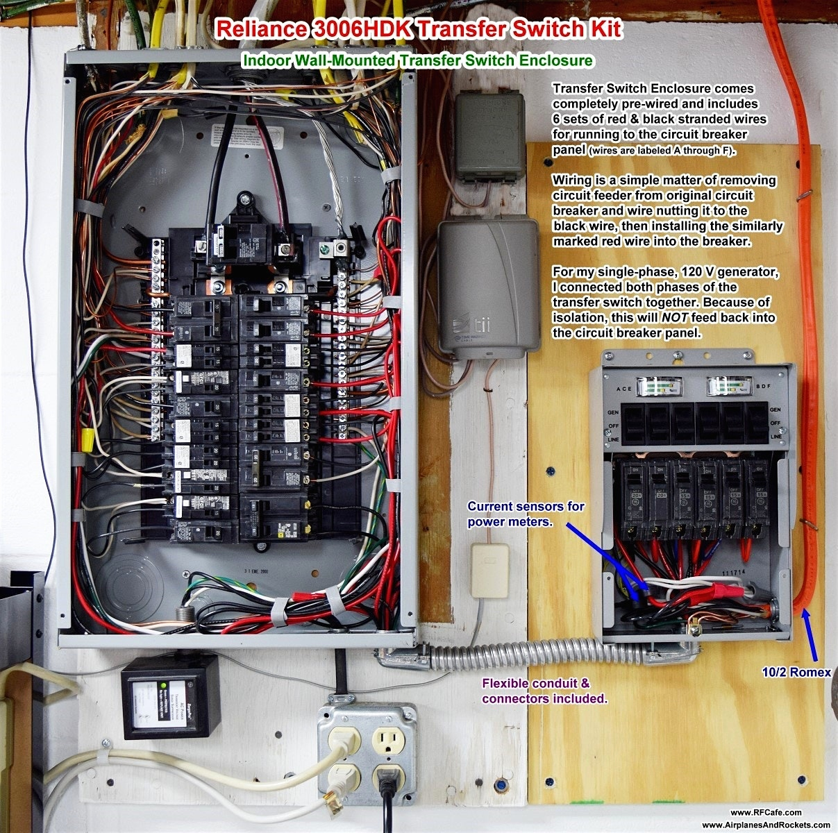 Transfer Switch Wiring Diagram Generator Transfer Switch Buying And