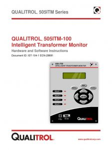 Qualitrol 167 Wiring Diagram - Qualitrol Liquid Temperature Gauge – Wire Diagram Transformers 18q