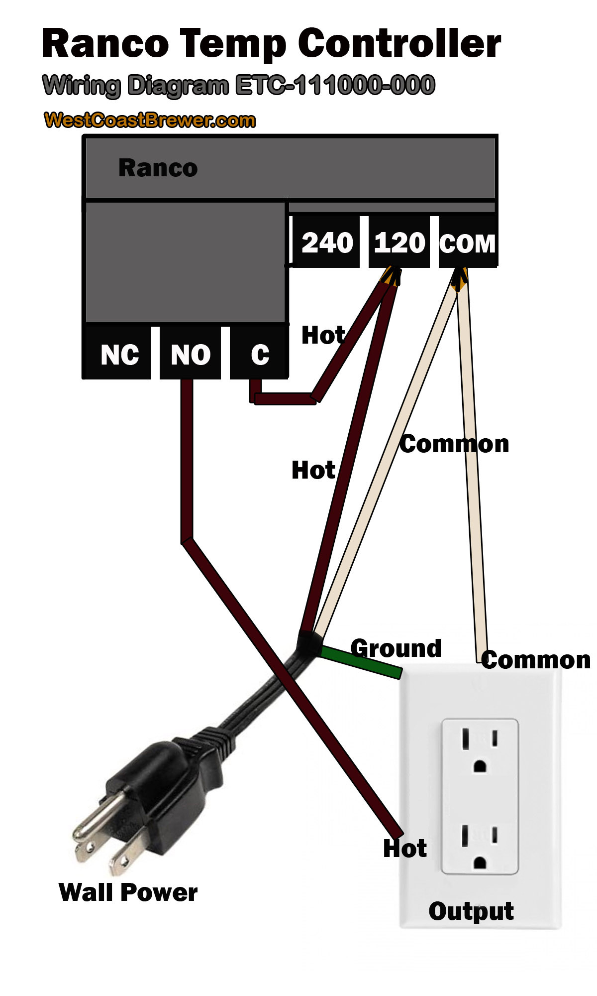 ranco temperature controller wiring diagram Collection-How To Wire A Ranco Digital Temperature Controller 120v Best Ideas que Wiring 6-m